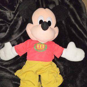 """2000 Disney Mattel Jumbo Mickey Mouse 26"""""""